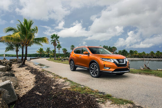 Nissan X-Trail Facelift 2017