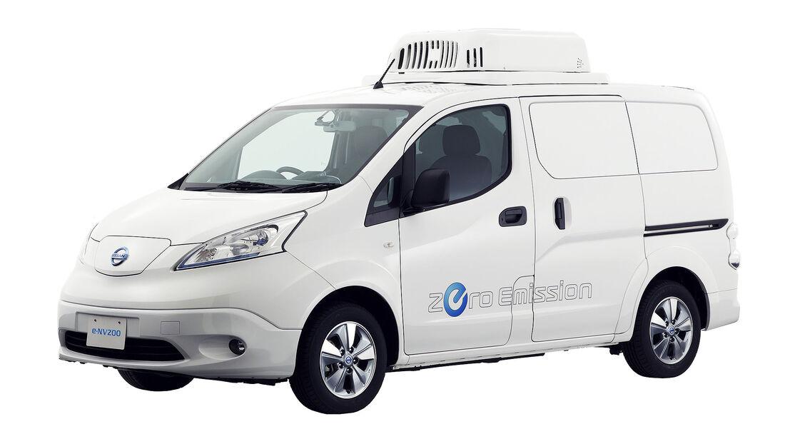 Nissan e-NV200 Fridge Concept