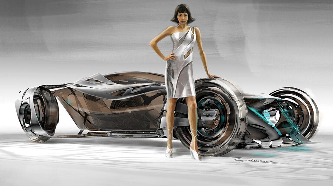 Nissan iV, L.A. Design Challenge, Studie