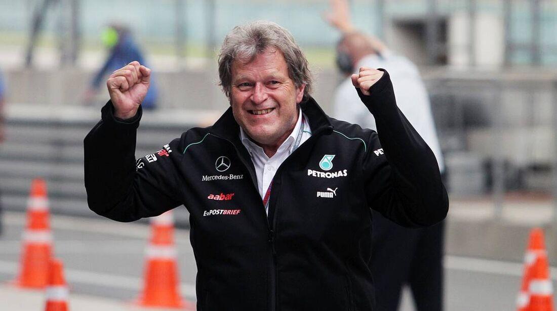 Norbert Haug  - Formel 1 - GP China - 15. April 2012