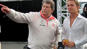 Norbert Haug und Nico Rosberg