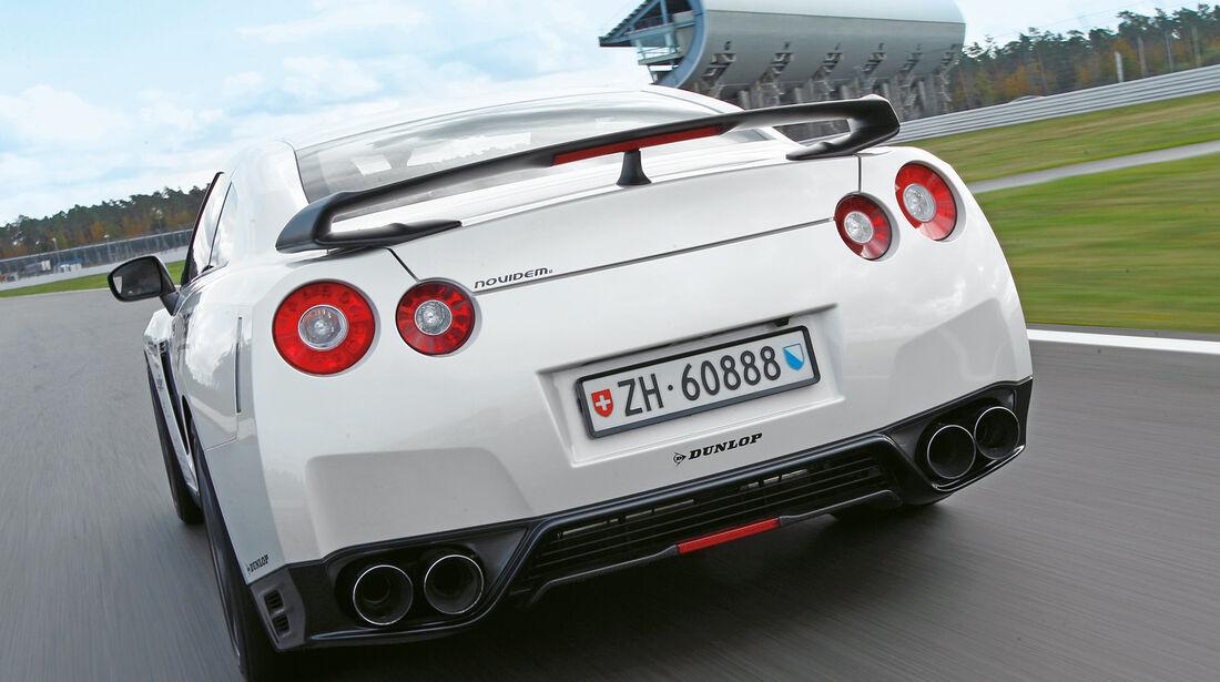 Novidem-Nissan GT-R, Heckansicht, Heckschürze