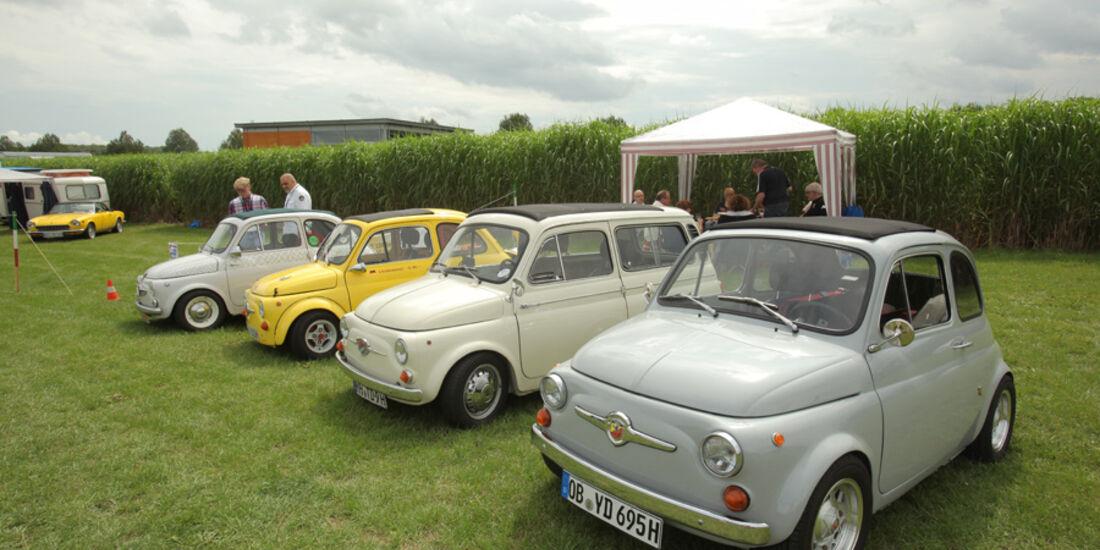 Nuova Fiat 500, Abarth, Giannini