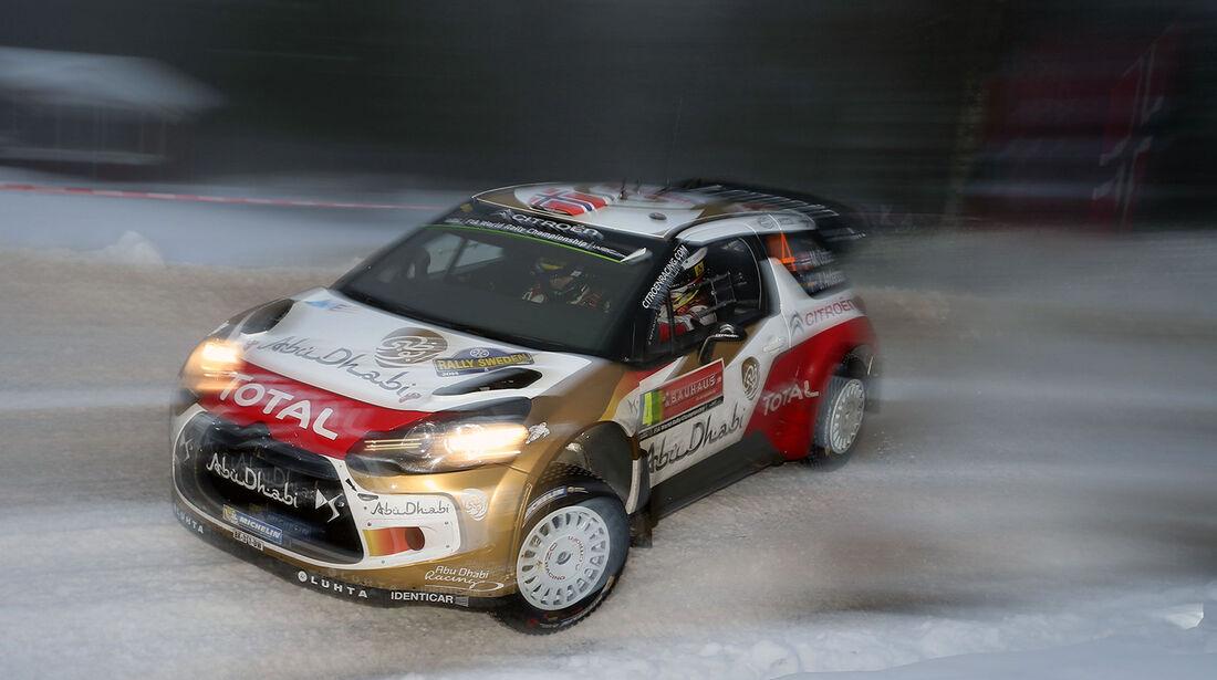 Östberg, Citroen, WRC Rallye Schweden 2014