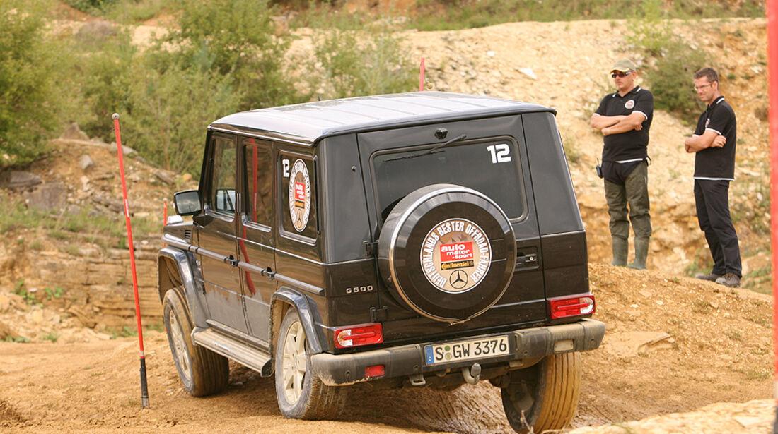 Offroad-Challenge 2010, Mercedes G