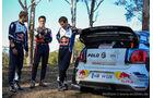 Ogier, Mikkelsen & Neuville - WRC Australien 2016