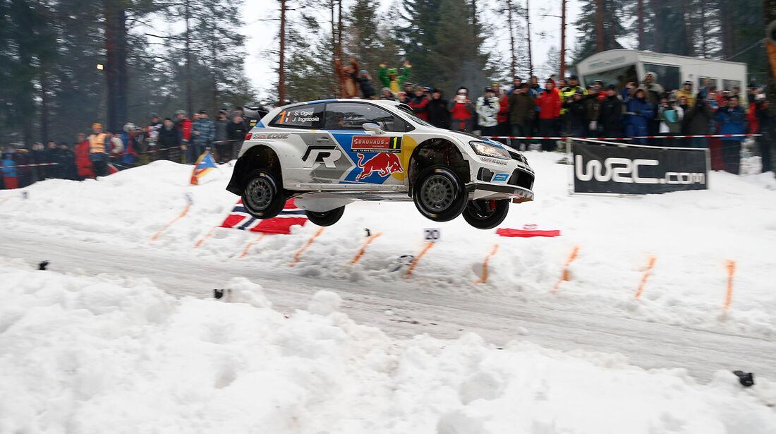 Ogierm WRC, VW Polo R WRC, Rallye Schweden 2014