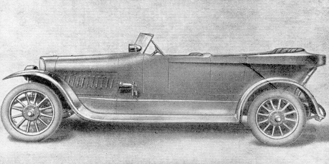 Opel 18/50 PS, 1916