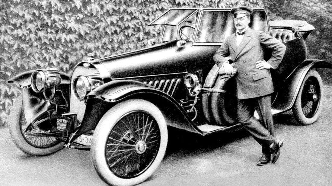 Opel 40/100 PS, Großherzog Ernst Ludwig von Hessen und bei Rhein, 1912
