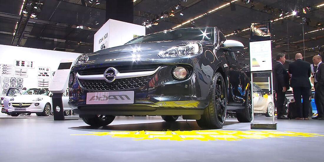 Opel Adam Black Link IAA 2013