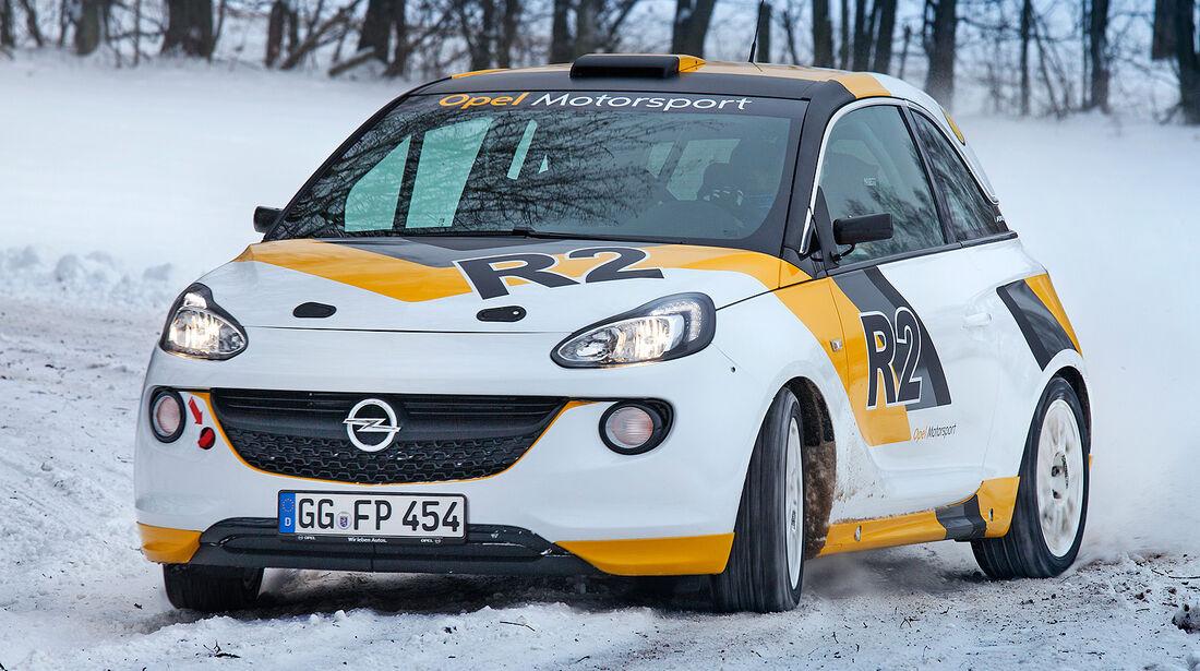 Opel Adam R2, Rallye-Studie