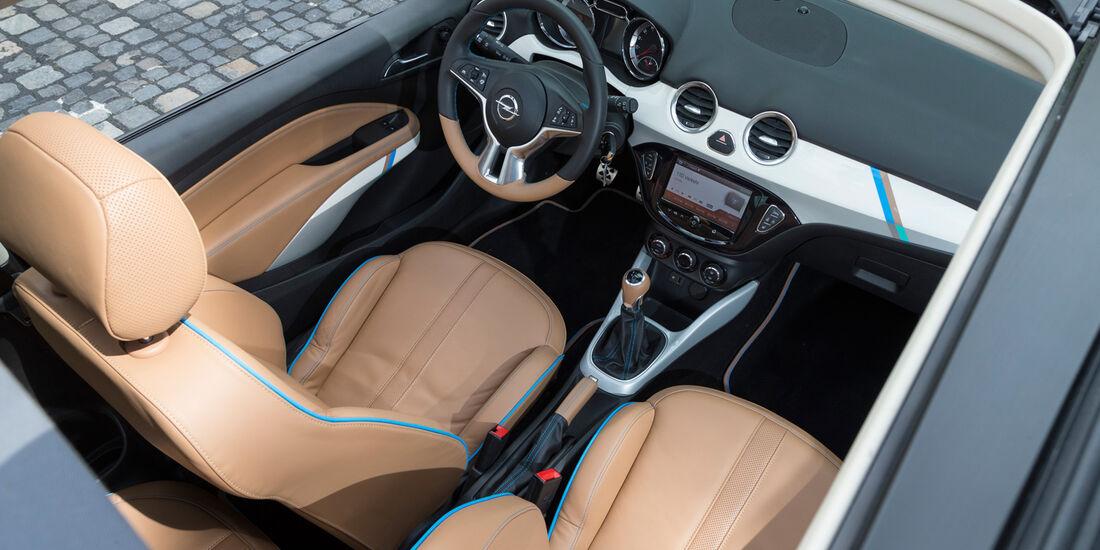 Opel Adam Rocks, Frontsitze