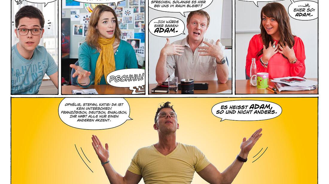 Opel Adam Werbekampagne