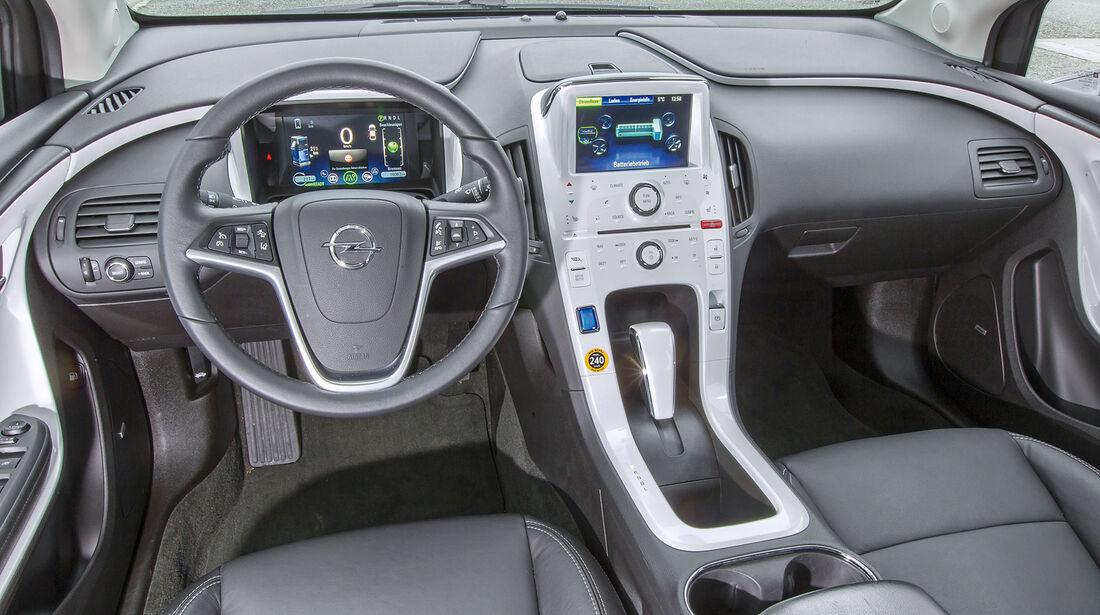 Opel Ampera, Cockpit