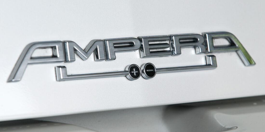 Opel Ampera, Emblem, Typenbezeichnung