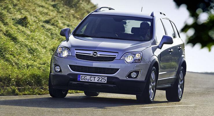 Opel Antara Facelift 2011