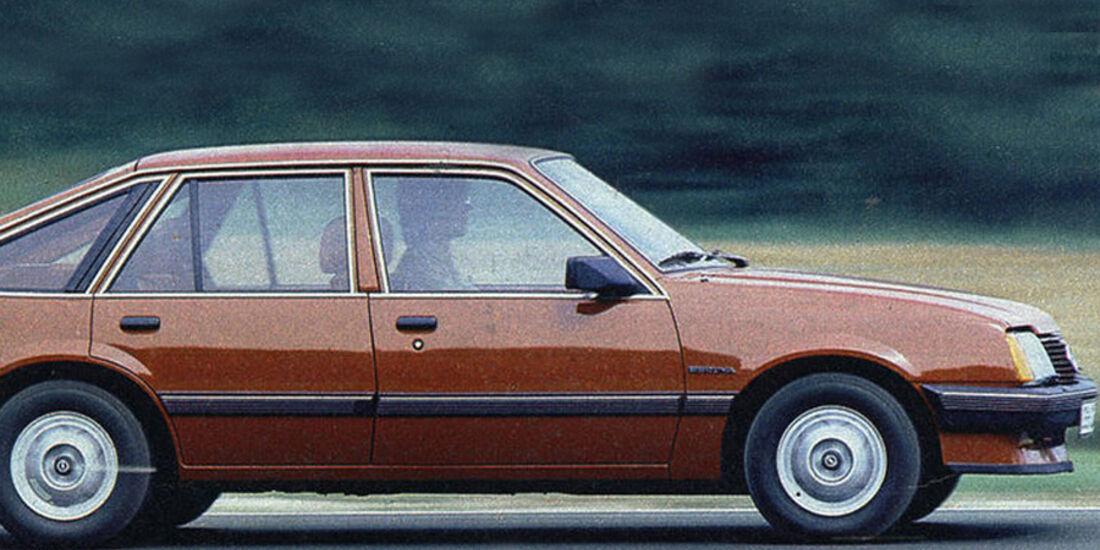 Opel, Ascona 1.6 S, IAA 1981