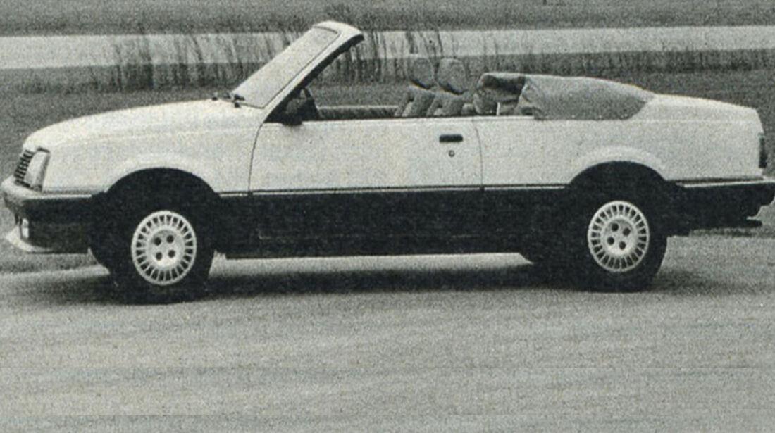 Opel, Ascona Cabriolet, IAA 1981