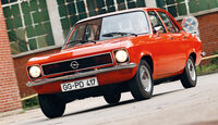 Opel Ascona, Frontansicht
