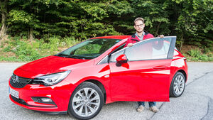 Opel Astra 2015 Bratislava Fahrbericht