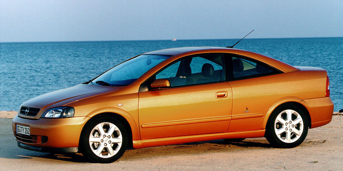 Opel Astra G Coupé, 2000