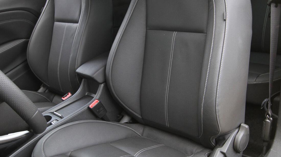 Opel Astra GTC 1.4 Turbo, Fahrersitz