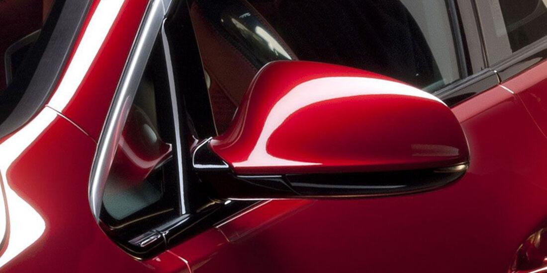 Opel Astra GTC, Seitenspiegel