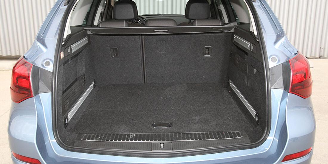 Opel Astra, Kofferraum
