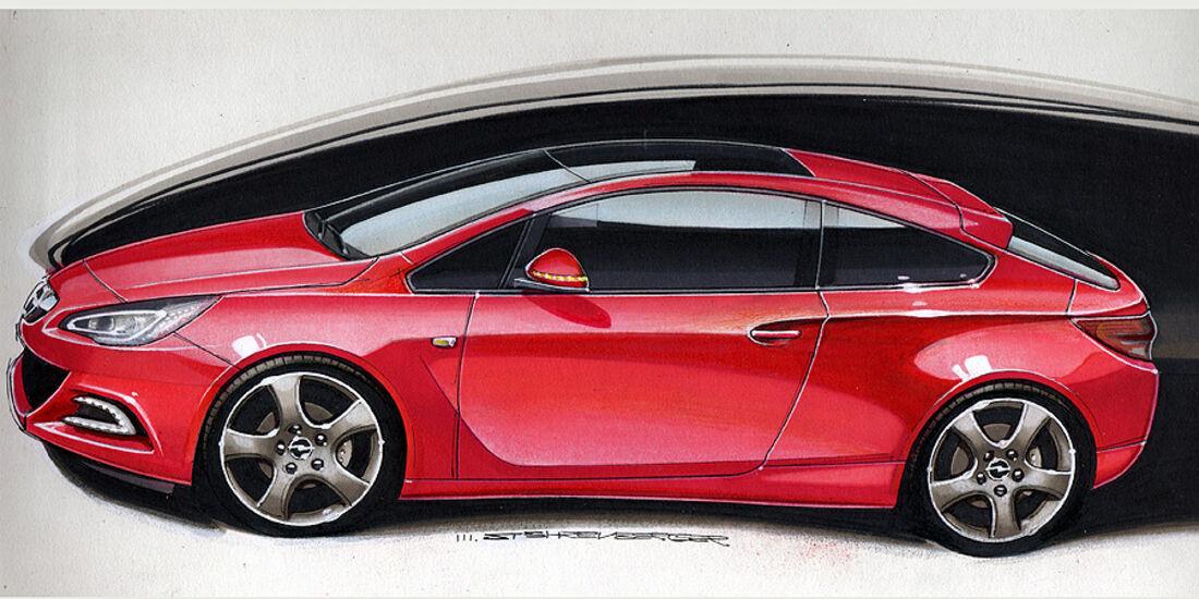 Opel Astra Sport Coupé
