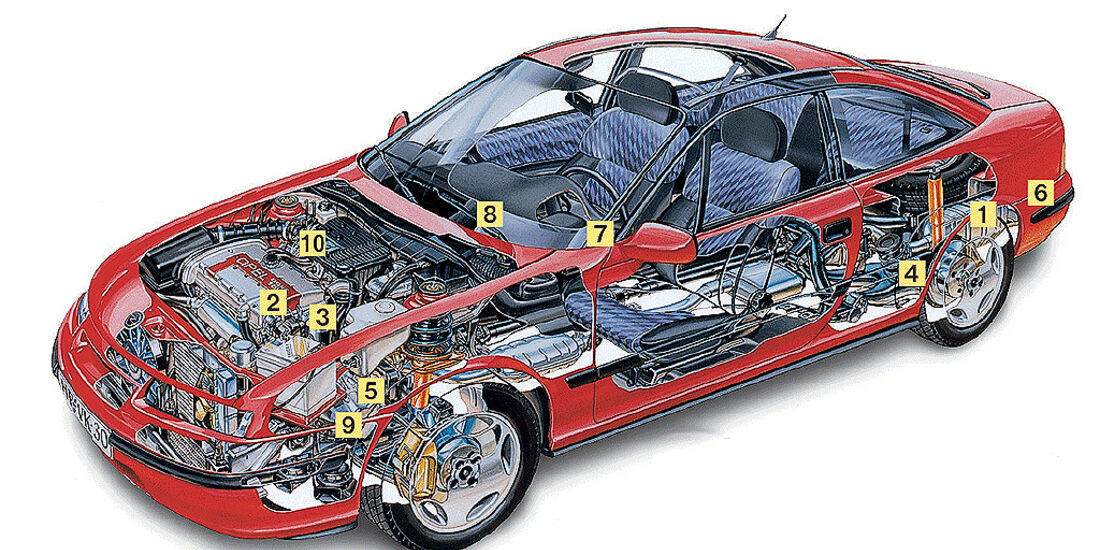 Opel Calibra 2.0i 16V