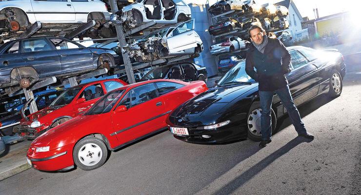 Opel Calibra 2.0i, Ford Probe 24V, Michael Schröder