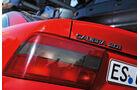Opel Calibra, Typenbezeichnung, Heckleuchte