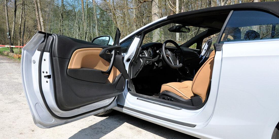 Opel Cascada, Innenraum