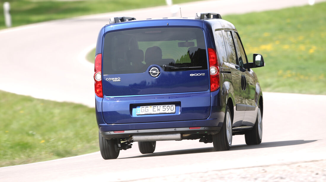 Opel Combo 1.4 Turbo CNG, Heck