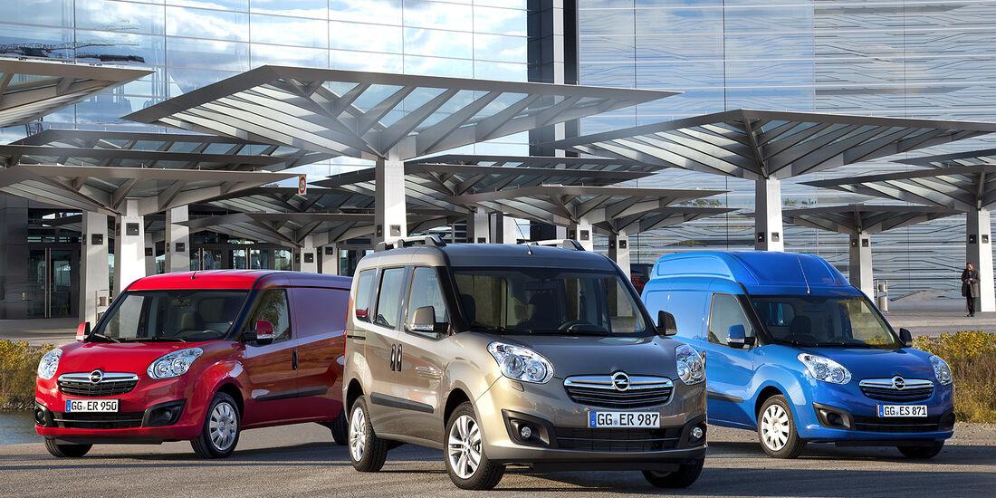 Opel Combo, 2013, Varianten