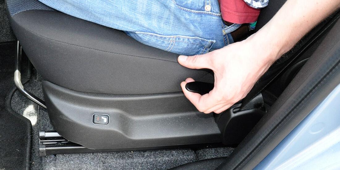 Opel Combo, Sitzverstellung, Sitzheizung