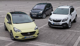 Opel Corsa 1.4 Turbo, Opel Meriva 1.4 Turbo, Opel Mokka 1.4 Turbo 4x4