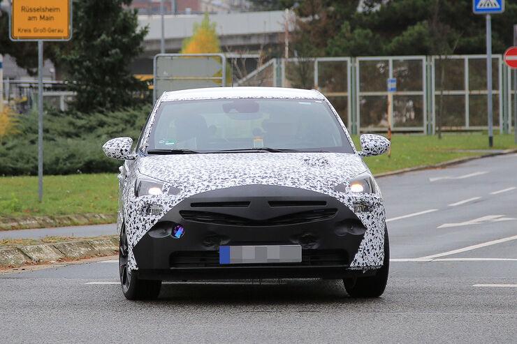 Opel Corsa Erlkönig