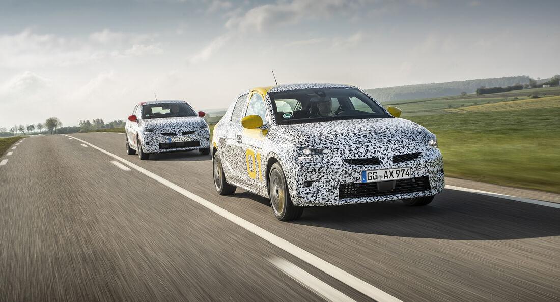 Opel Corsa, Front