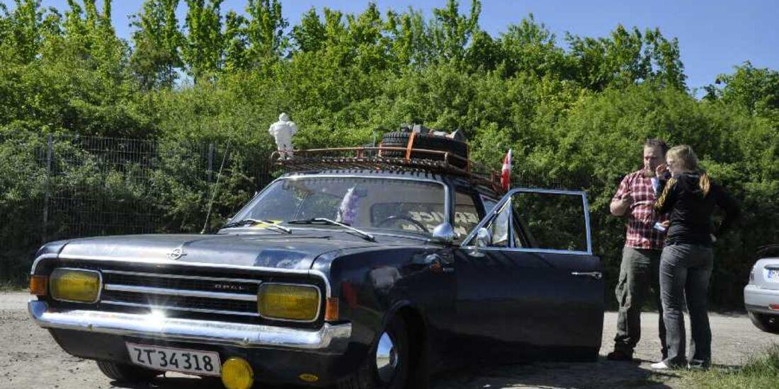 Opel Corsa Motorraum
