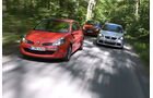 Opel Corsa OPC, Renault Clio Sport F1-Team, VW Polo GTI Cup Edition