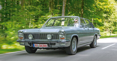 Opel Diplomat B Cabriolet, Frontansicht