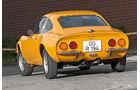 Opel GT, Heckansicht