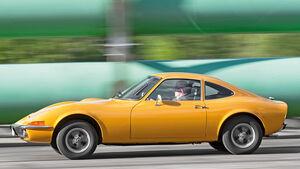 Opel GT, Seitenansicht