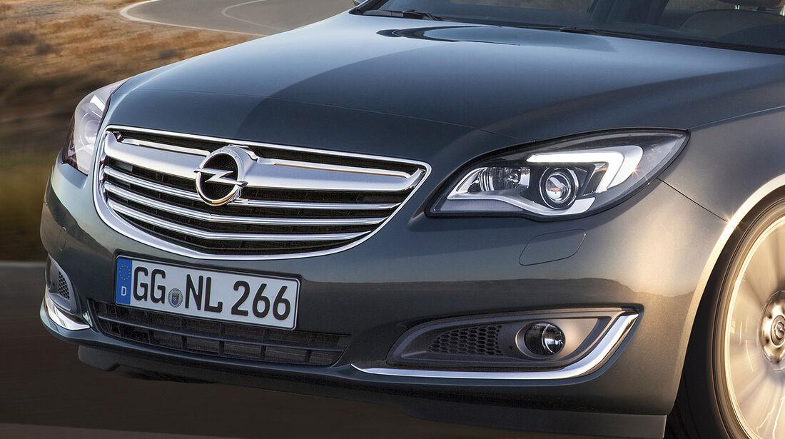 Opel Insignia Facelift, IAA 2013, Fronthaube