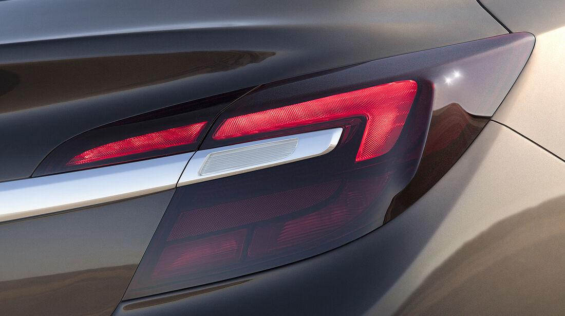 Opel Insignia Facelift, IAA 2013, Heckleuchte