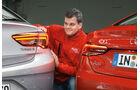 Opel Insignia Grand Sport, Audi A5 Sportback, Heckleuchten
