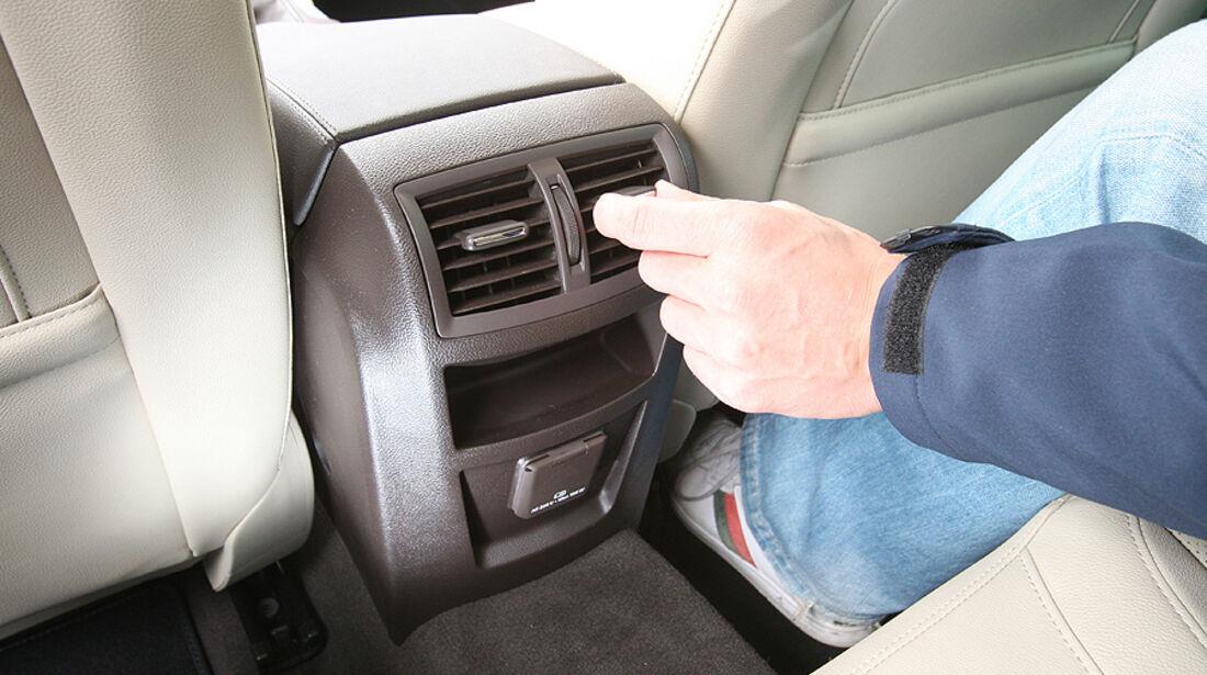 Opel Insignia Innenraum, hinten