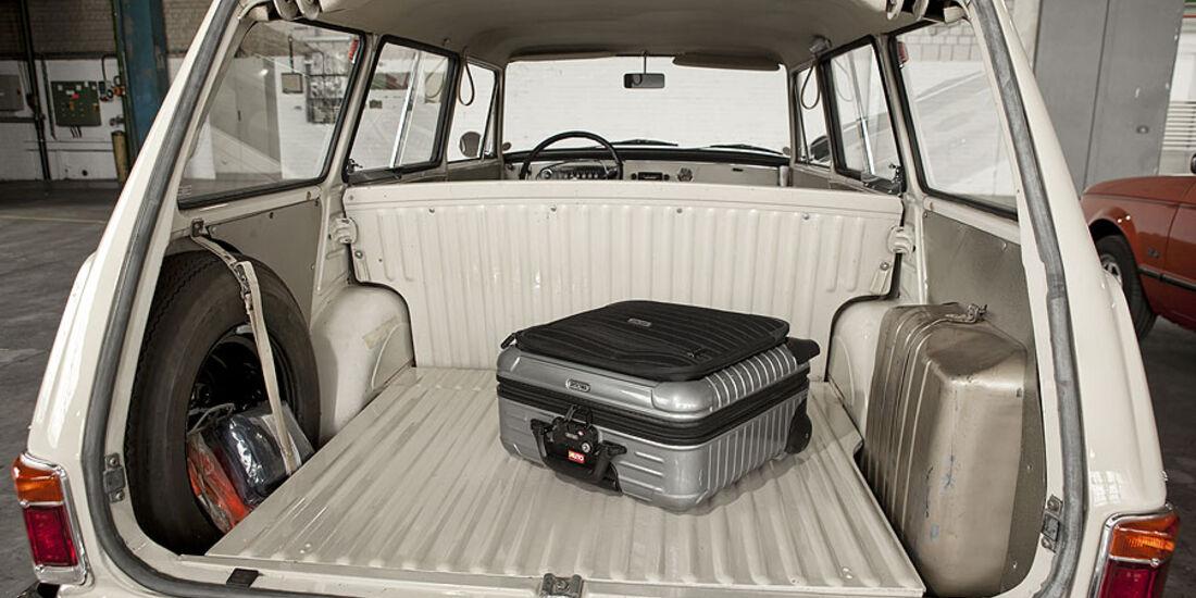 Opel  Kadett A, Kofferraum