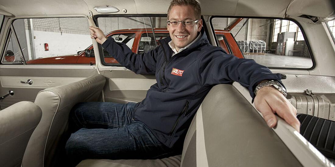 Opel Kadett D Caravan, Rückbank